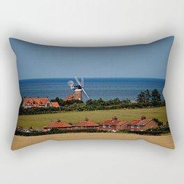 Weybourne windmill Rectangular Pillow