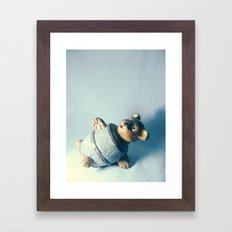 Bear-rel of Laughs Framed Art Print