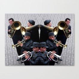 Syjam Orchestra Canvas Print