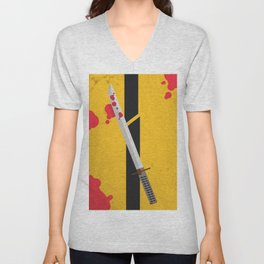 KILL BILL Tribute Unisex V-Neck