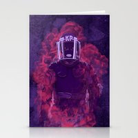 police Stationery Cards featuring Karma Police by victor calahan