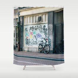 Streets of Amsterdam Shower Curtain