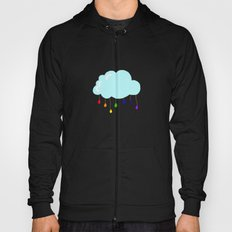 I wish it could rain colors Hoody
