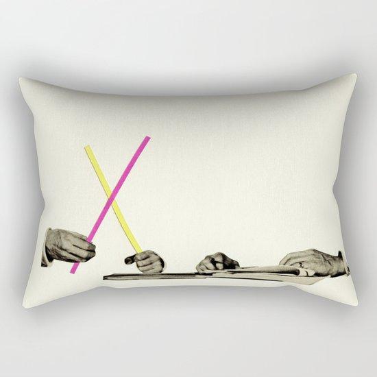 Let's Play Pick-Up Sticks Rectangular Pillow