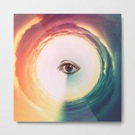 Eye Mind Metal Print