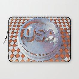 Retro USA Graphic Laptop Sleeve