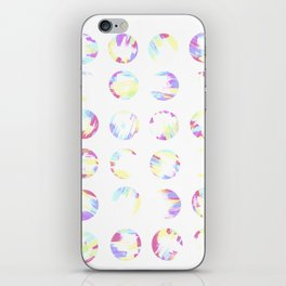 Pastell Dots iPhone Skin
