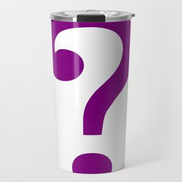 riddle this me Travel Mug