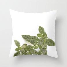 Nerve Plant Throw Pillow