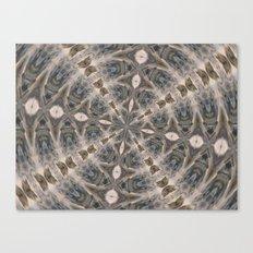 Flowing Waters Kaleidoscope Canvas Print
