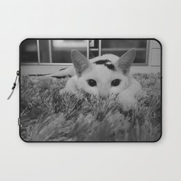 kitty ready to pounce Laptop Sleeve