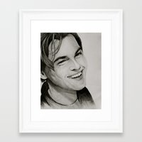 leonardo Framed Art Prints featuring Leonardo by Chris Knight