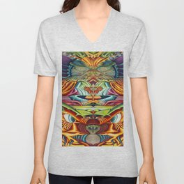 Totemic Unisex V-Neck
