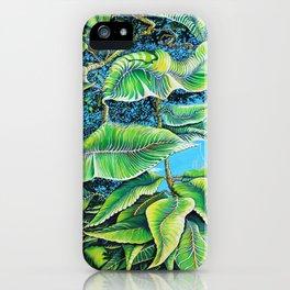 Julie's Jungle iPhone Case