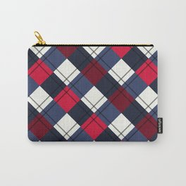 Squared Pattern 4 Carry-All Pouch