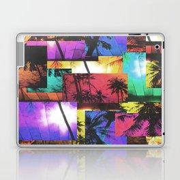 Tree Patterns with Sunset Laptop & iPad Skin