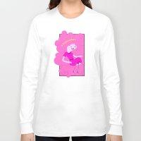 bubblegum Long Sleeve T-shirts featuring Bubblegum by Tia Hank