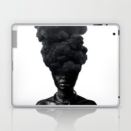 Smoke Face Laptop & iPad Skin
