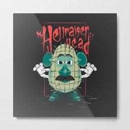 Mr. Hellraiser Head Metal Print