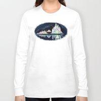 milwaukee Long Sleeve T-shirts featuring Milwaukee Reflections by Kristiekoz