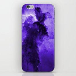 Eagle Nebula Ultraviolet iPhone Skin
