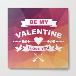 Valentine's day  Metal Print