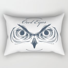 owl eyes Rectangular Pillow