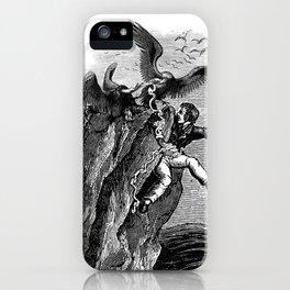 The Vulture Advocate iPhone Case