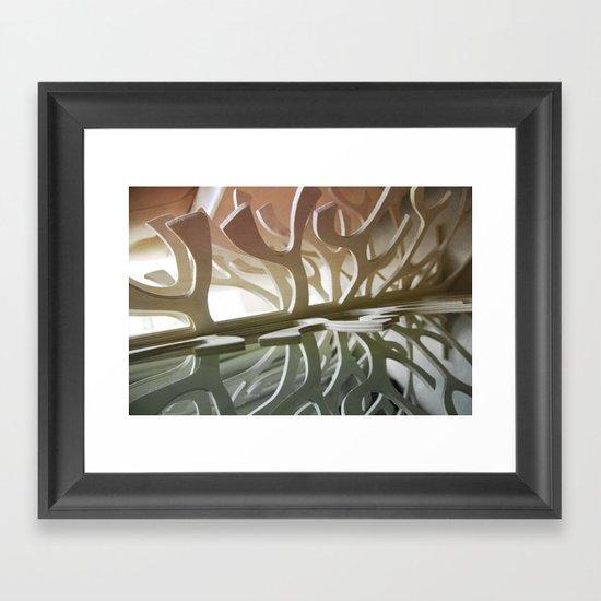 defining form Framed Art Print
