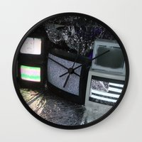 tv Wall Clocks featuring Bollywood Televisions by BOLLYWOOD
