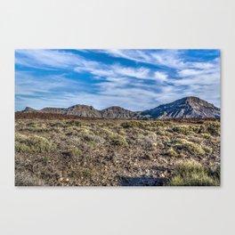 Pico del Teide Canvas Print