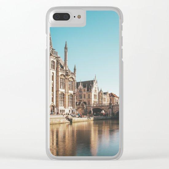 Magic Ghent Clear iPhone Case
