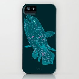 Coelacanth iPhone Case