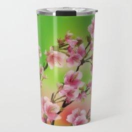 Cherry Blossom - Variation 3 Travel Mug