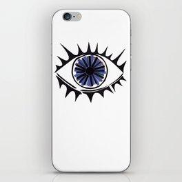 Blue Eye Warding Off Evil iPhone Skin
