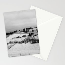 First winter snow in Oberon. NSW. Australia. Stationery Cards