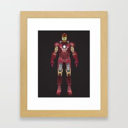 Iron Man Iron Man Framed Art Print