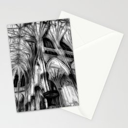 The Haunted Cathedral Stationery Cards