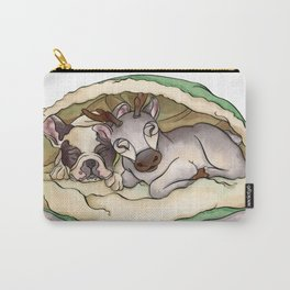 Bubba & Sleeping Reindeer Carry-All Pouch