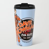 2001 Travel Mugs featuring Dr. Dave Bowman's EVA Suits by Doodle Dojo