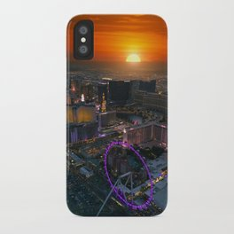 Sunset in Vegas iPhone Case