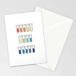 pH Indicators Stationery Cards