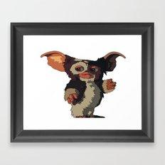 Gizmo, Gremlin color Framed Art Print