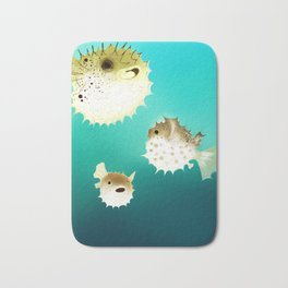 PUFFERFISH Bath Mat