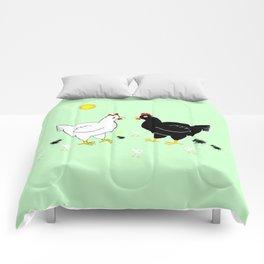 Family Hen Comforters
