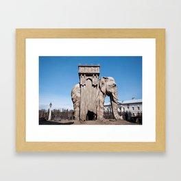 Elephant of the Bastille Framed Art Print