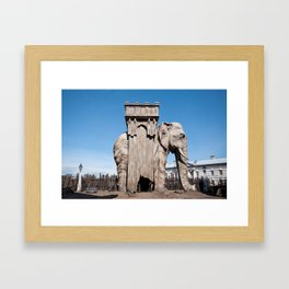 Elephant of the Bastille Framed Art Print