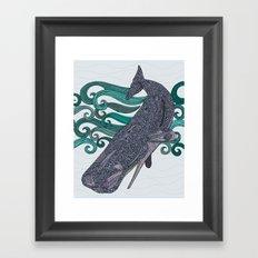 Deep Violet Framed Art Print