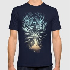 War Of The Worlds I. Mens Fitted Tee Navy MEDIUM