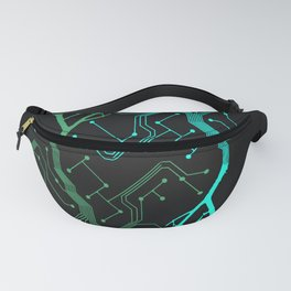 Techno Tree Fanny Pack